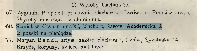 cwenarski