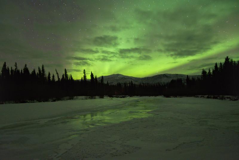 Aurora over overf