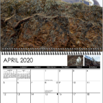 April display image from 2020 wall calendar