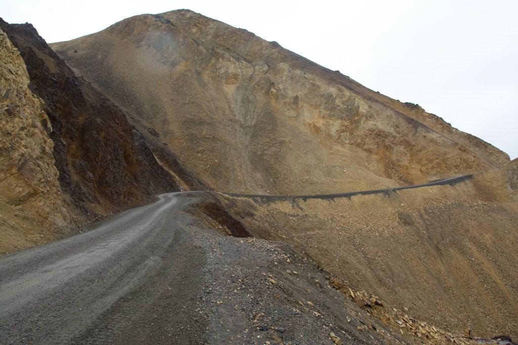 Pretty Rocks landslide on the Park Road taken in September of 2018