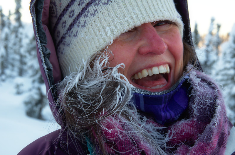 Frozen Laugh