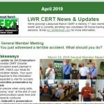 2019-04 Public Newsletter