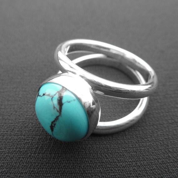 Birthstone Turquoise Ring