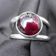 Birthstone Garnet Ring