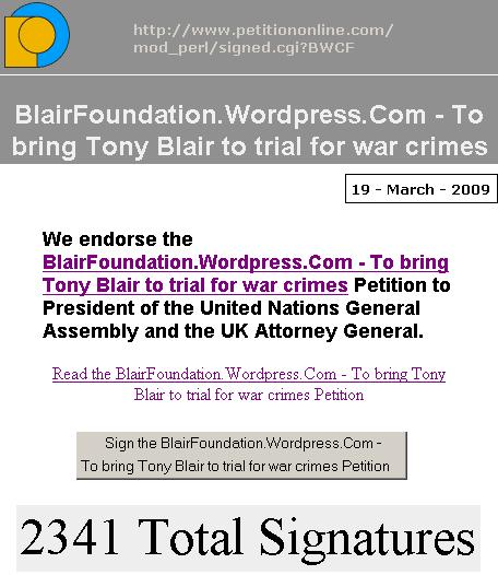 petition-against-blair-war-crimes-foundation-bwcf-19th-march