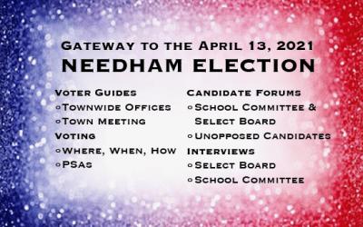 Gateway to Needham Election 2021