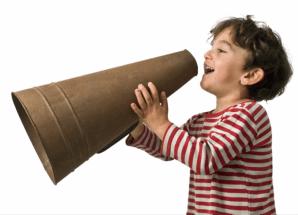 child speaking