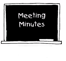 meeting minutes and records
