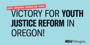 Victory for youth justice reform