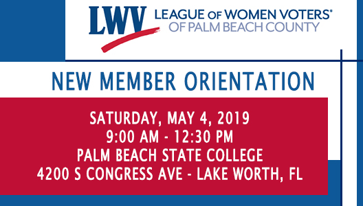 2019 May- New Member Orientation