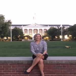 Happy at Harvard