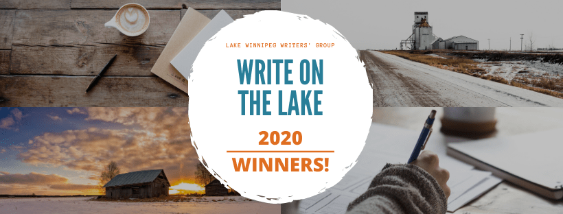 Write on the Lake 2020 Winner Announcement Banner