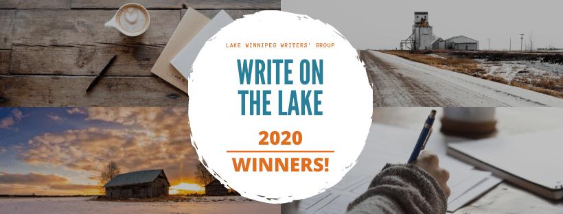 Write on the Lake 2020 Winner Announcement Banner