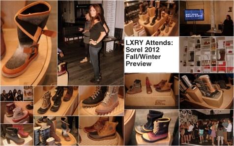 Sorel 2012 Fall/Winter Preview