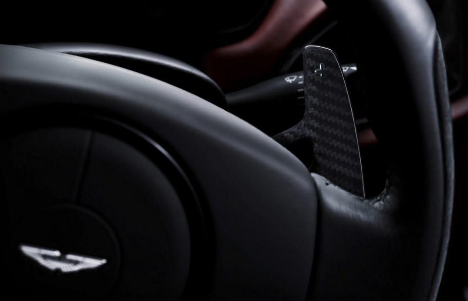 2013 Aston Martin Vanquish Paddle