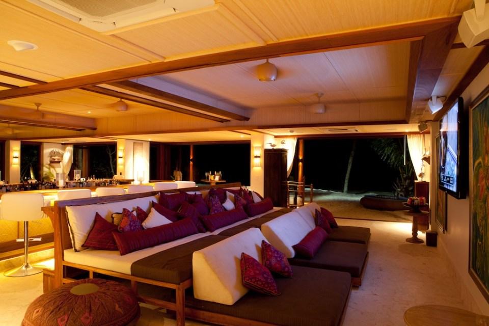 Necker Island_Beach House sofa
