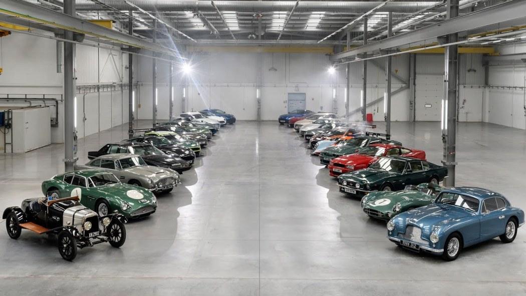 St Athan Plant Aston Martin