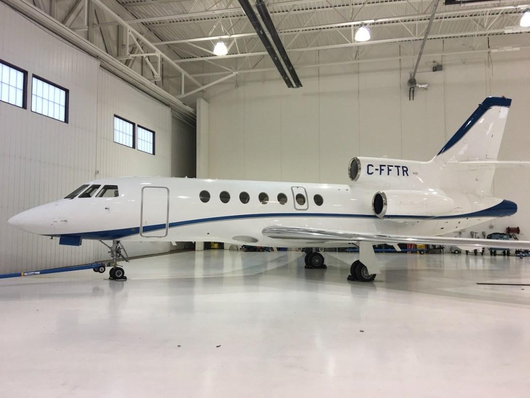Chrono-Aviation-Charter-Jet-Montreal-Falco-5OEX-Exterior
