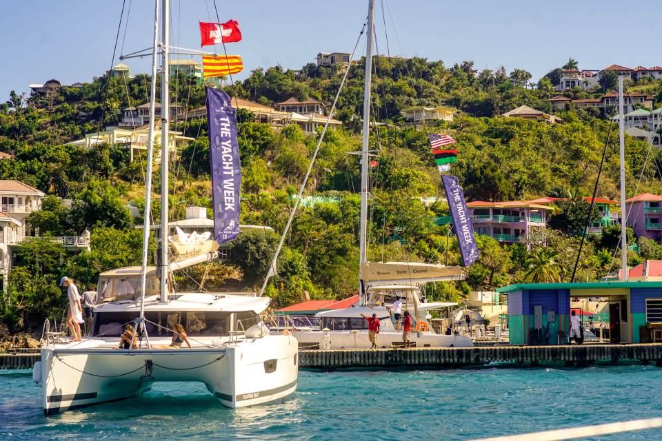 the yacht week bvi lxry 5