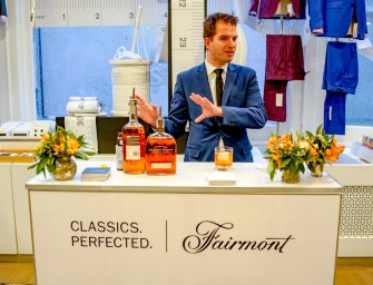 Enjoying A Master Class of Fairmont's Classics. Perfected. Cocktails At Saks