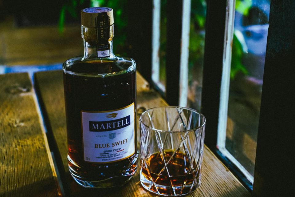 martell blue swift cognac 9