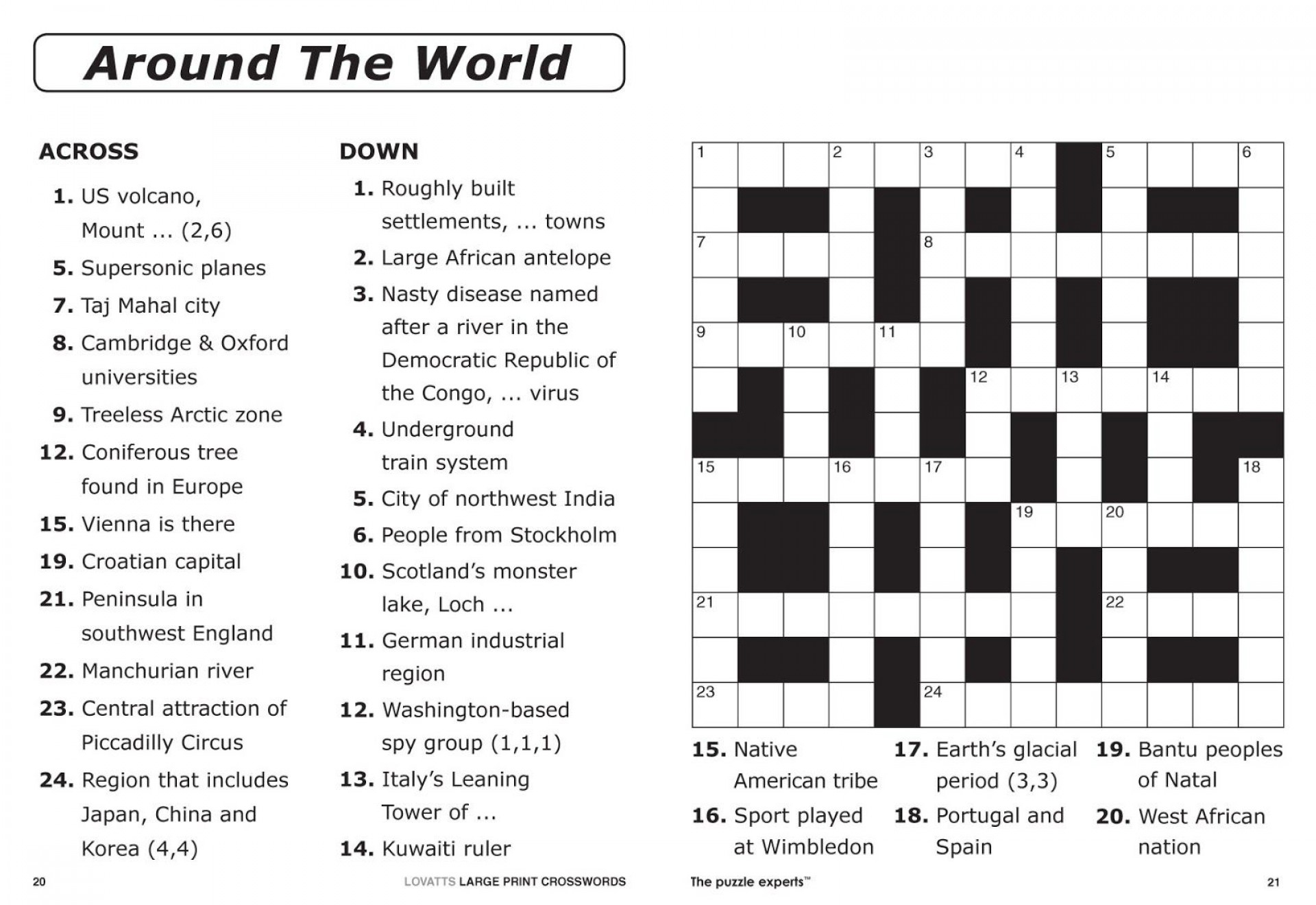 Joseph Crossword Puzzles Printable