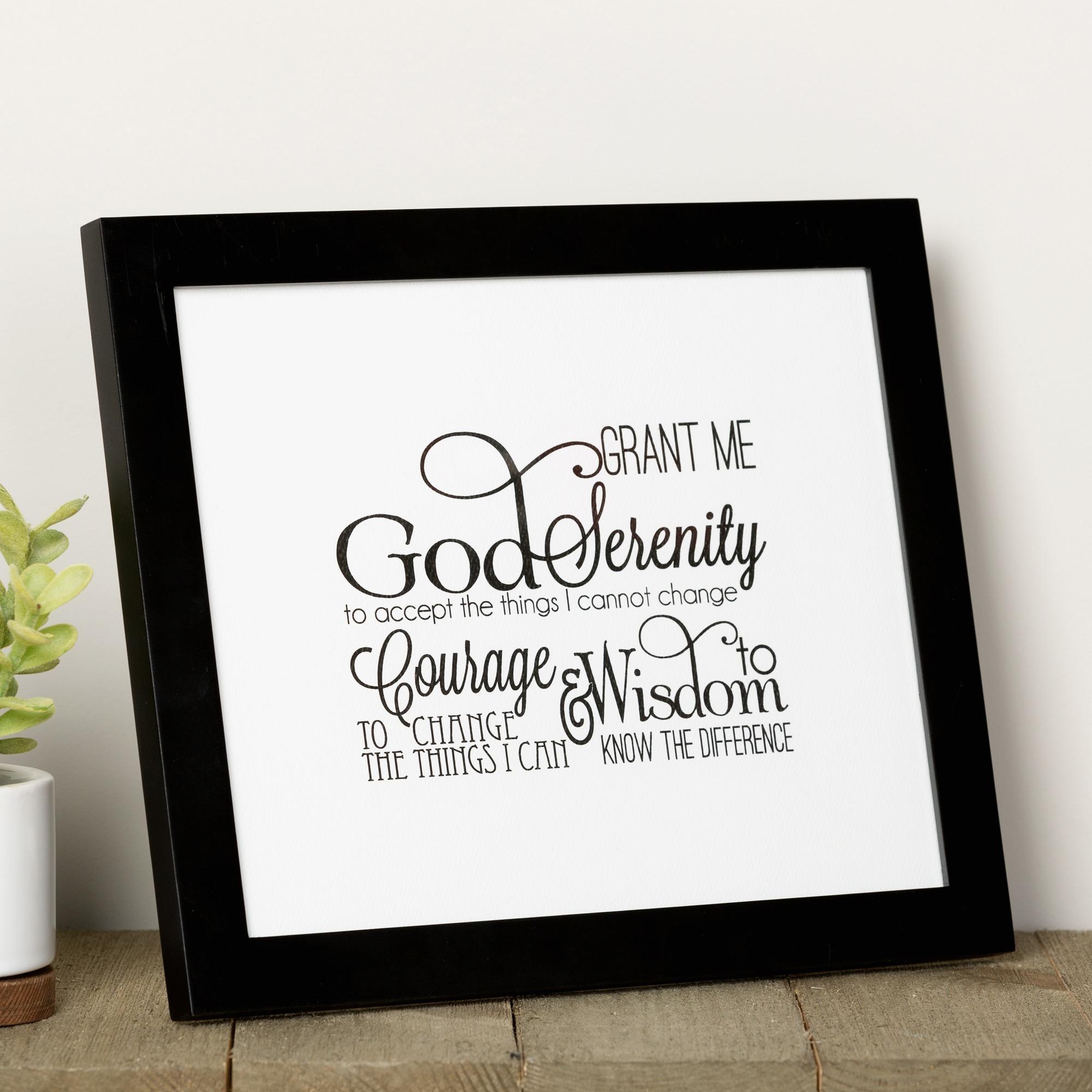 Free Printable Serenity Prayer
