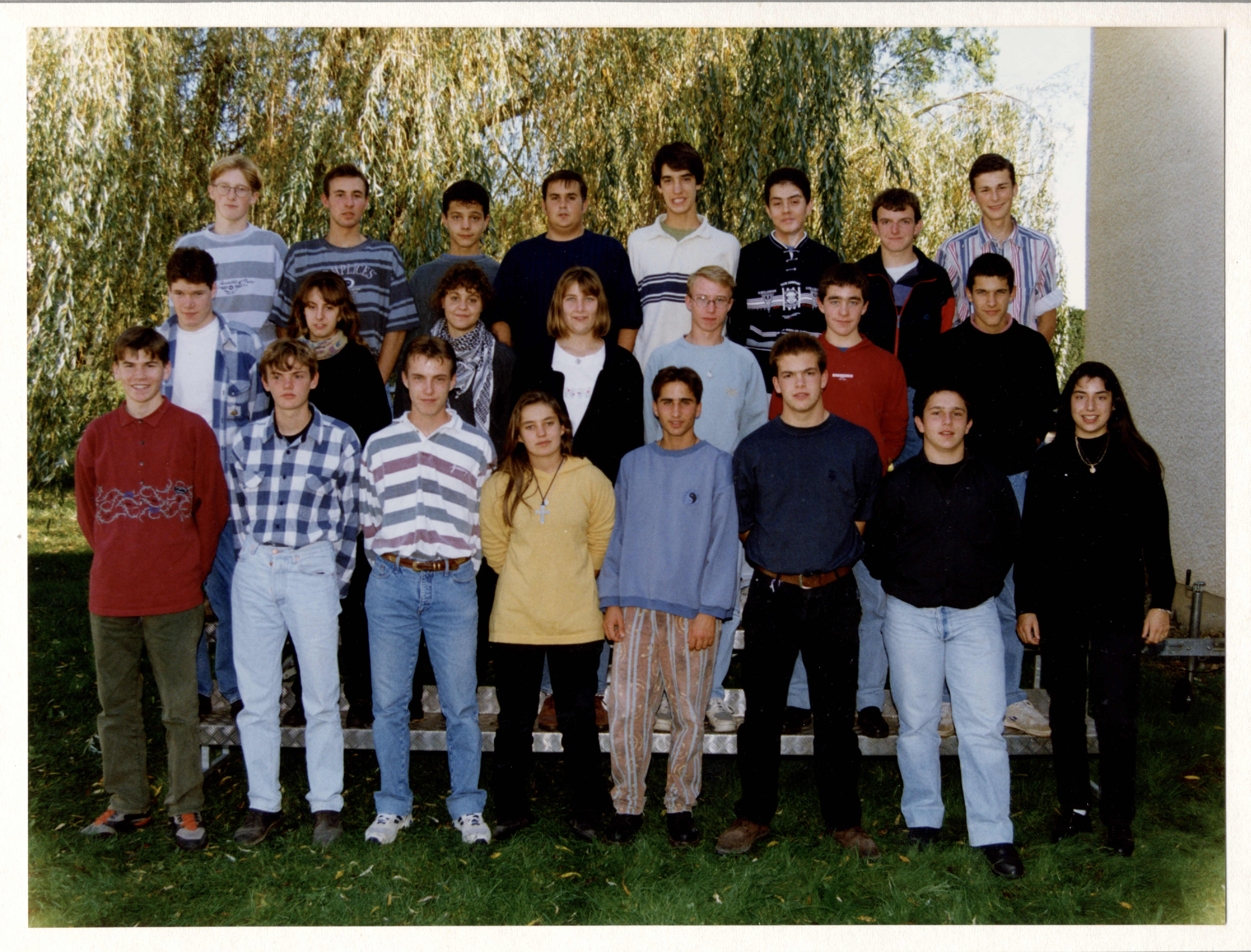 Photo de groupe - 1994-95