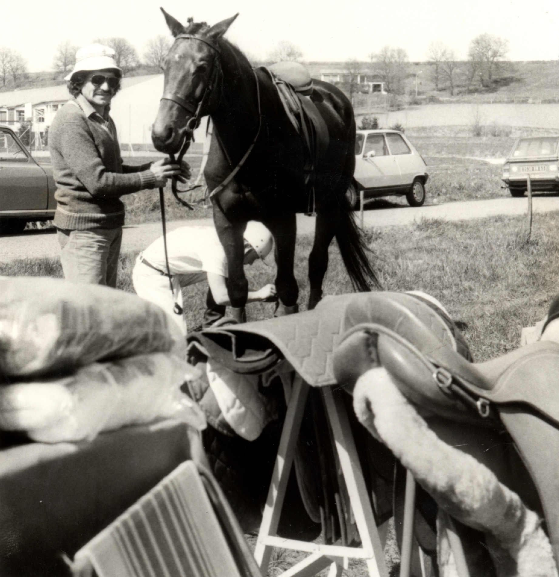 Centre equestre années 1970-1980