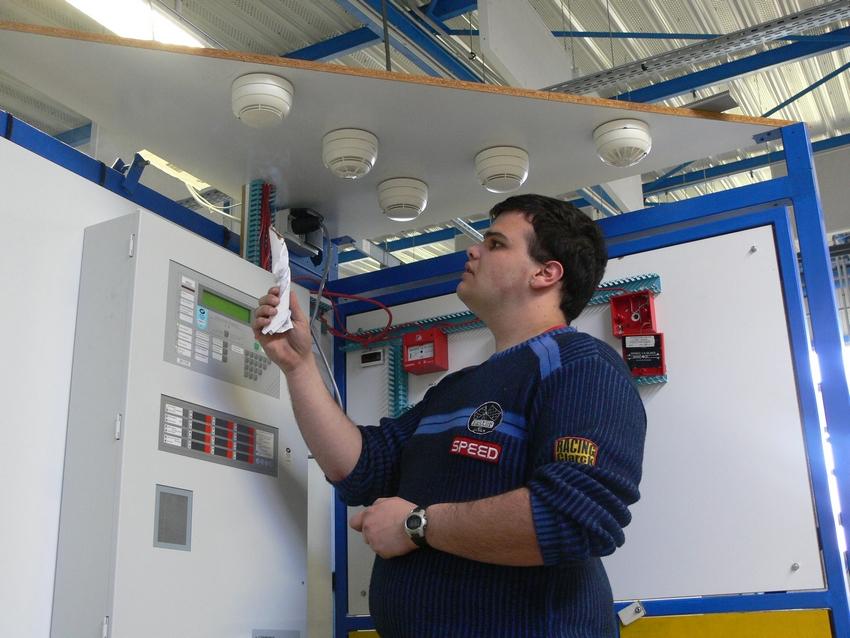 Installation d'alarmes incendie