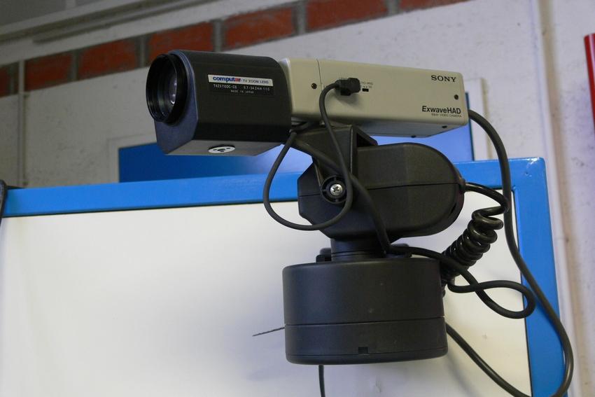 Installation de cameras de vidéo-surveillance