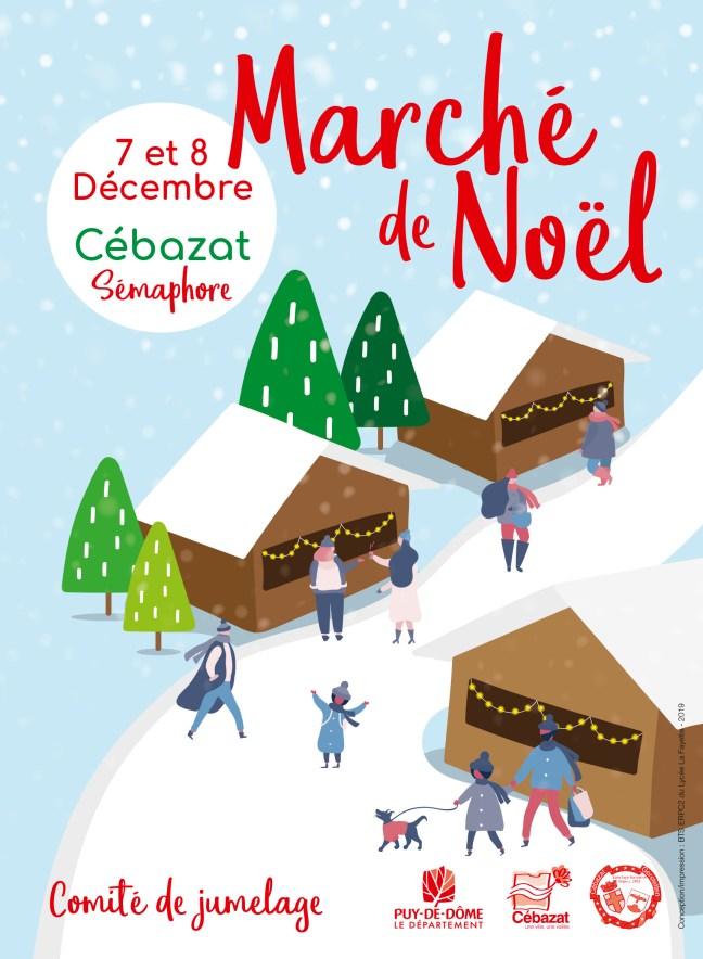 Marché de Noël Cébzat BTSERPC