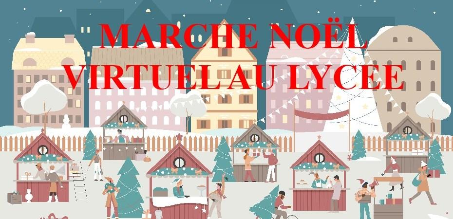 Marché de Noël virtuel au lycée