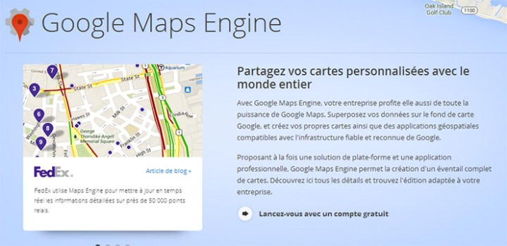 Google Map Engine