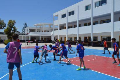 Journée sportive et solidaire au lycée Charcot