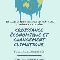 Conférence du vendredi, 13 décembre 2019 à 18 h 15 est annulée