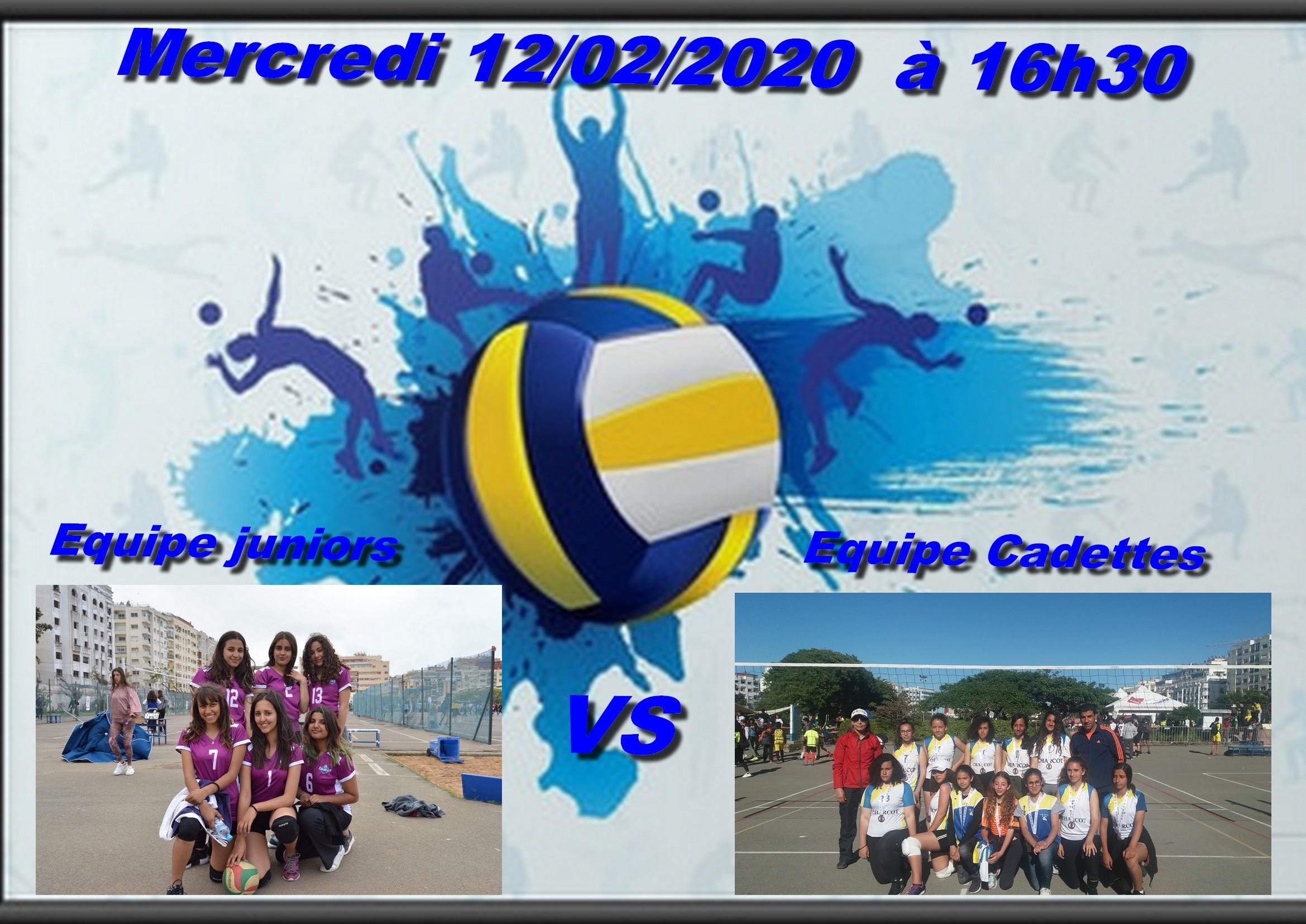 Match amical de Volleyball