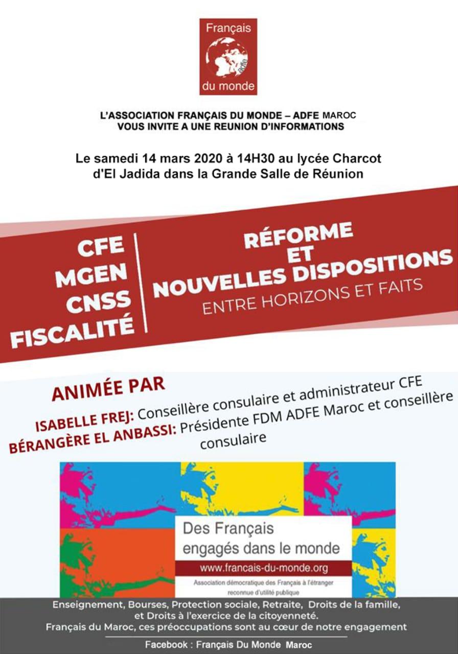 Réunion Association Français du Monde