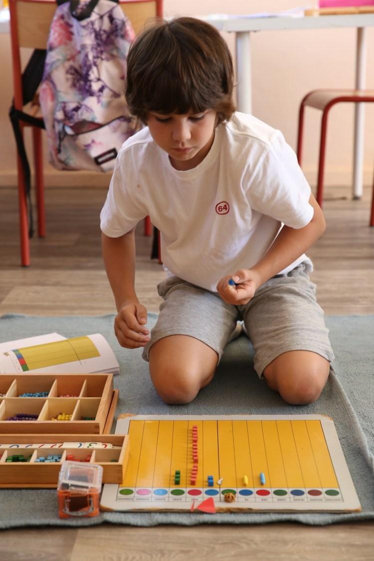 l enfant apprend les decimaux