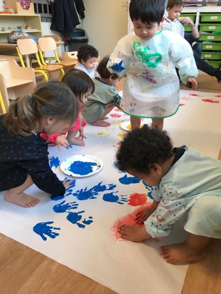 sections - maternelle - à l'école montessori Athéna