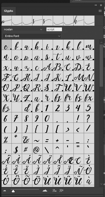 Glyph Font : glyph, Glyphs, Adobe, Photoshop?, Lychee, Design