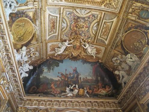 Louvre Museum Apollo Gallery Ceiling