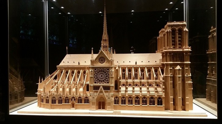 Notre-Dame Cathedral Model