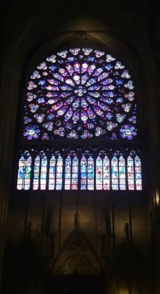 Notre-Dame Cathedral Rose Window 2
