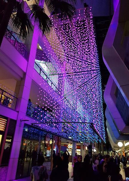 Chatswood Vivid Station Lights Full