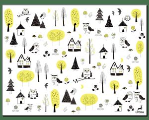 Forest転写紙