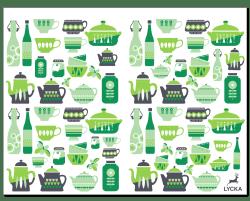 Kitchen転写紙(緑)