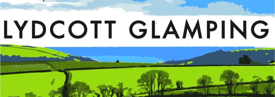 Lydcott Glamping logo Cornwall