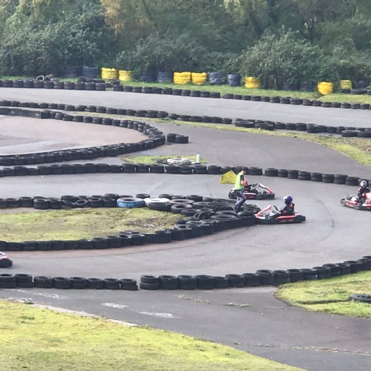 Go Karting at Adrenalin quarry