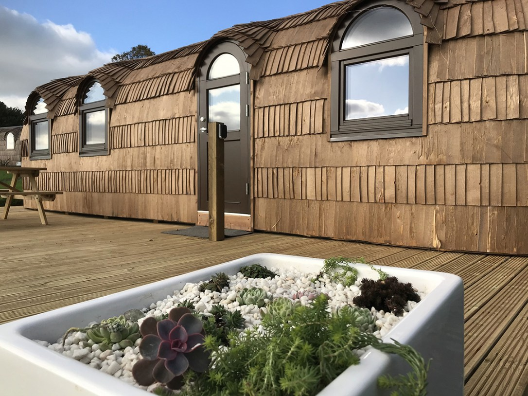 The Pilchard Lydcott Glamping Cornwall